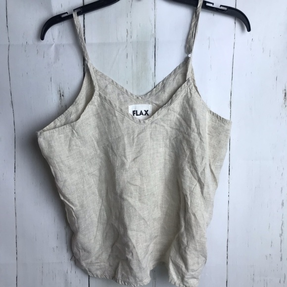 Flax Tops - Flax tank top